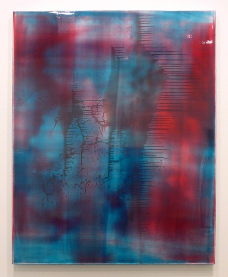 Jus Juchtmans ,   20121116  ,  2012     Acrylic on canvas ,  63 x 51 inches (160 x 130 cm)