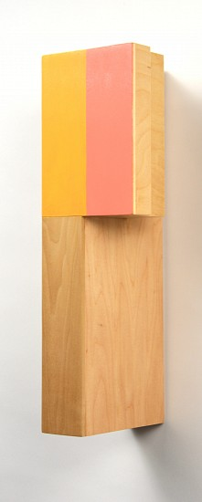 Kevin Finklea ,   Dominion 1  ,  2013     Acrylic on laminated poplar and birch veneer plywood ,  18 x 6 x 6 inches (44 x 14 x 16 cm)