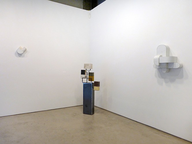 Ted Larsen - Industrial Park - Installation View