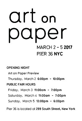 Art on Paper New York 2017 - Installation View