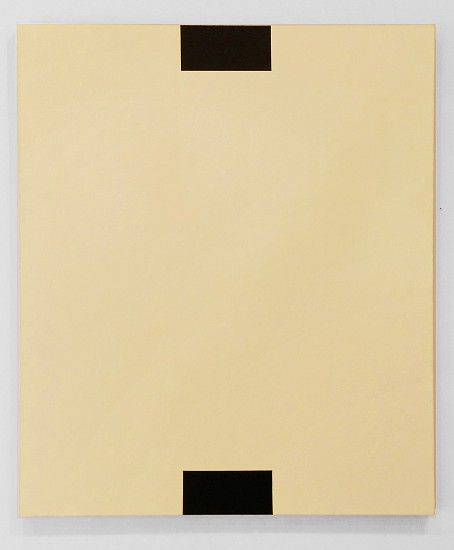 Frank Badur ,   Untitled (Yellow)  ,  1994     Oil and alkyd on linen ,  48 x 40 inches (122 x 102 cm)